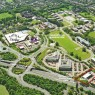 aerial photograph of cheadle royal business park