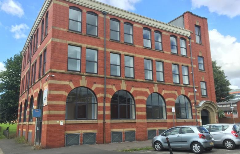 red brick textiles warehouse