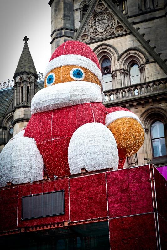 Manchester Market santa