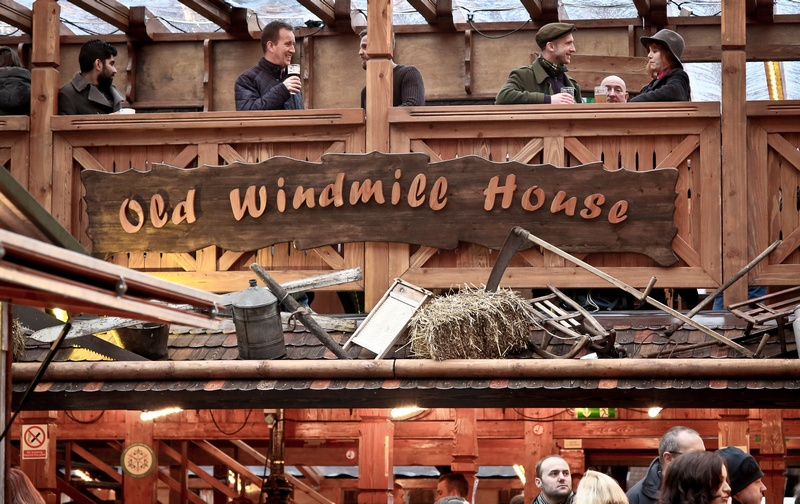 old windmill house Manchester market