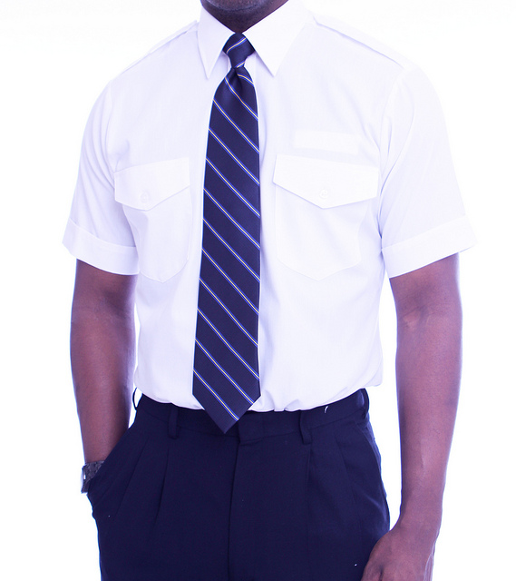 Try Short Sleeve Shirts or a Polo Shirt