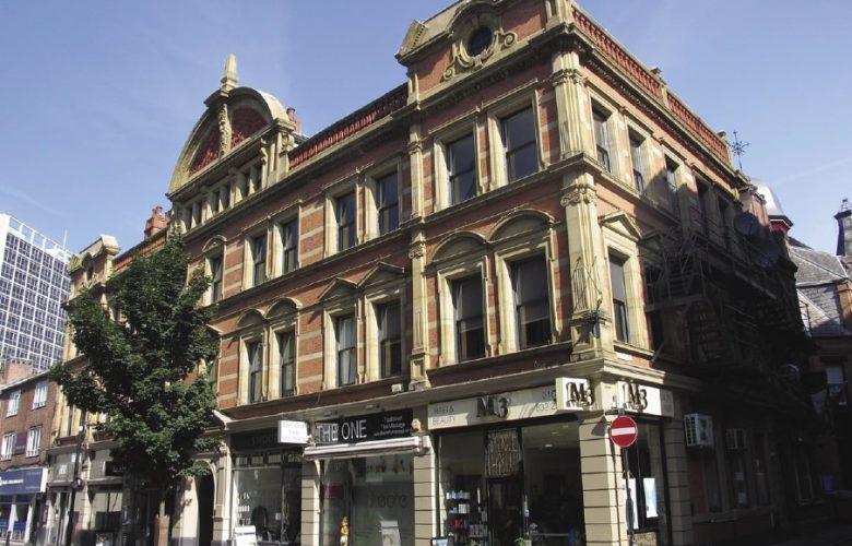 Kenworthy's Buildings on Bridge Street, Manchester