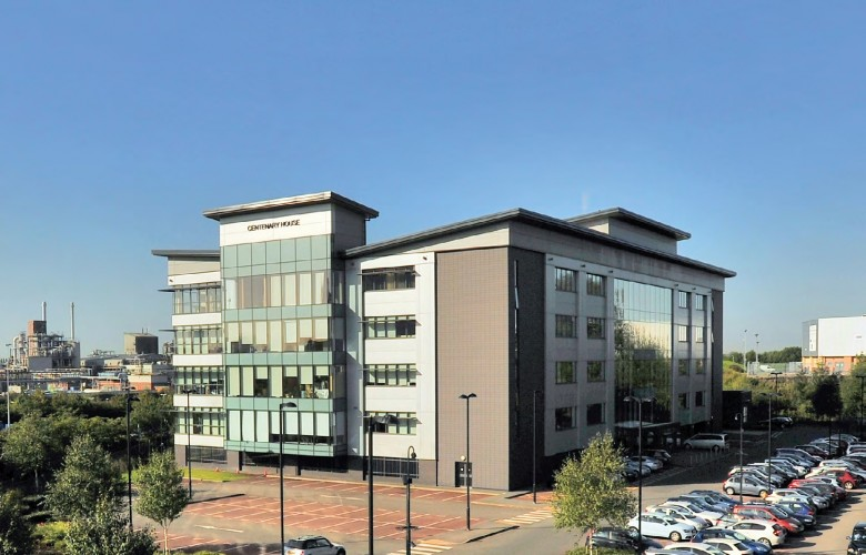 4 storey office building external picture