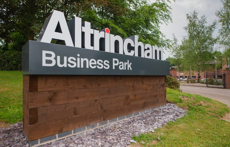 Altrincham Business Park Sign