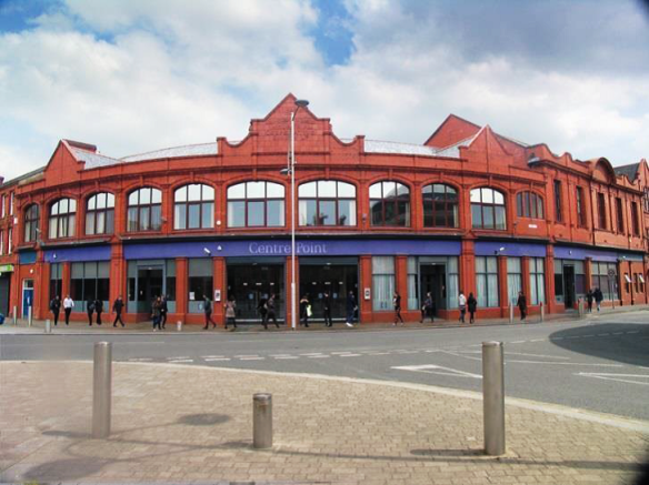 Exterior image of Centre Point, Widnes