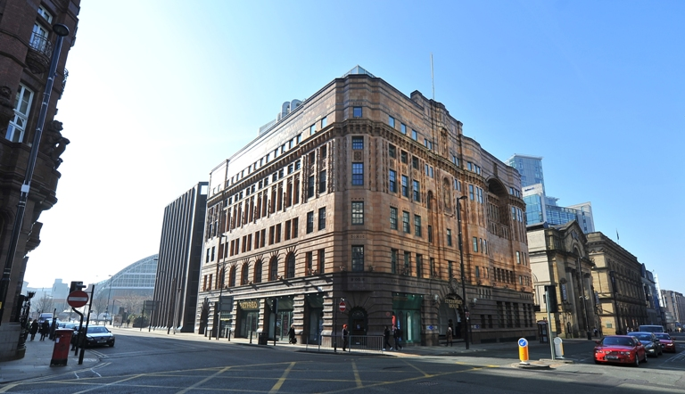 Exterior image St George's Building, Manchester