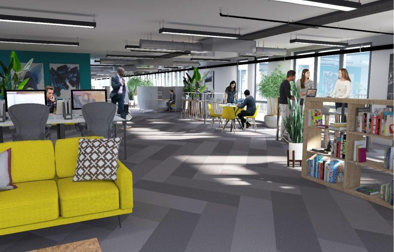 St James 9th Floor Office Interior - CGI
