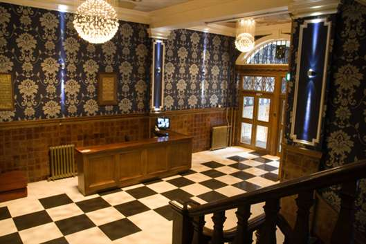 Interior image Milton Hall, Manchester