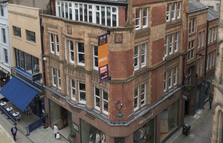 exterior photograph of 16-18 King street